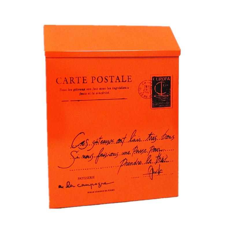 小號帶鎖信報箱防雨防曬鐵皮信箱防銹意見箱掛墻信件箱便民箱郵箱