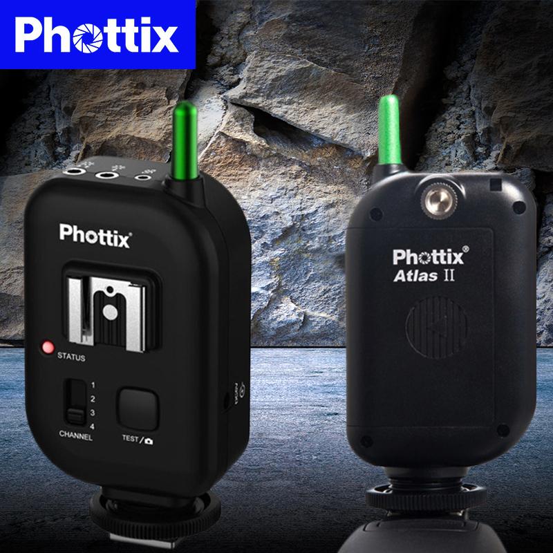 富达时 Phottix Atlas II无线引闪器 收发同体触发器(单只装)