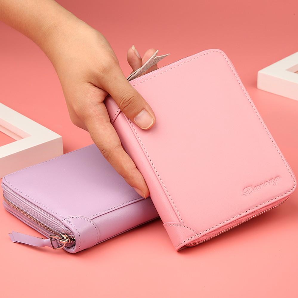 新款真皮多卡位夹功能女士卡套大容量钱包一体包 2018 卡包女式超薄