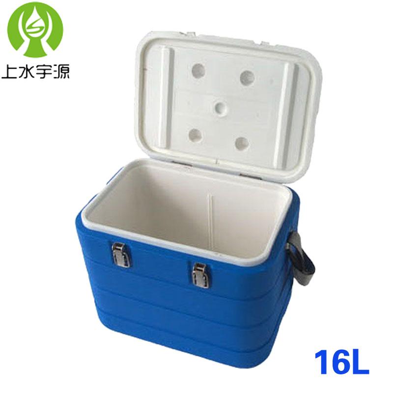 便携带温度显示食品疫苗保温箱冷藏箱冷链箱血液运输箱钓鱼送餐箱