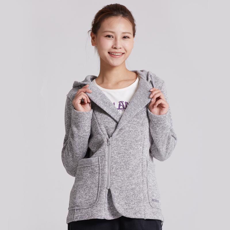 kroceus/地球科學家秋冬戶外女式開衫Polartec保暖透氣外套抓絨衣