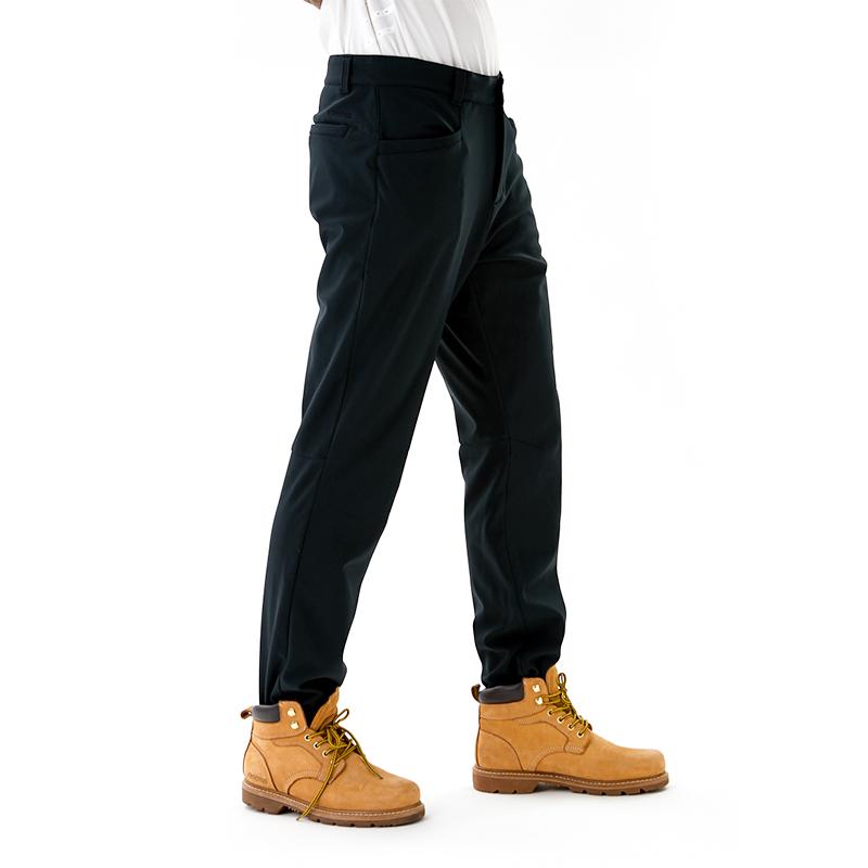 秋冬款户外男式休闲裤弹力保暖运动裤软壳裤 18 地球科学家 kroceus