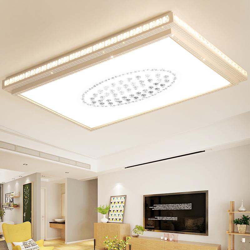 led吸顶灯客厅灯现代简约卧室灯创意大气办公室房间阳台餐厅灯具
