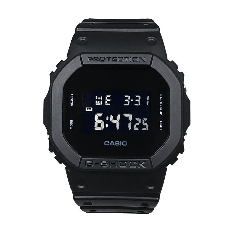 纯黑款电子表方块 1A 5600BBN 1DW 5600BB DW SHOCK G CASIO 卡西欧