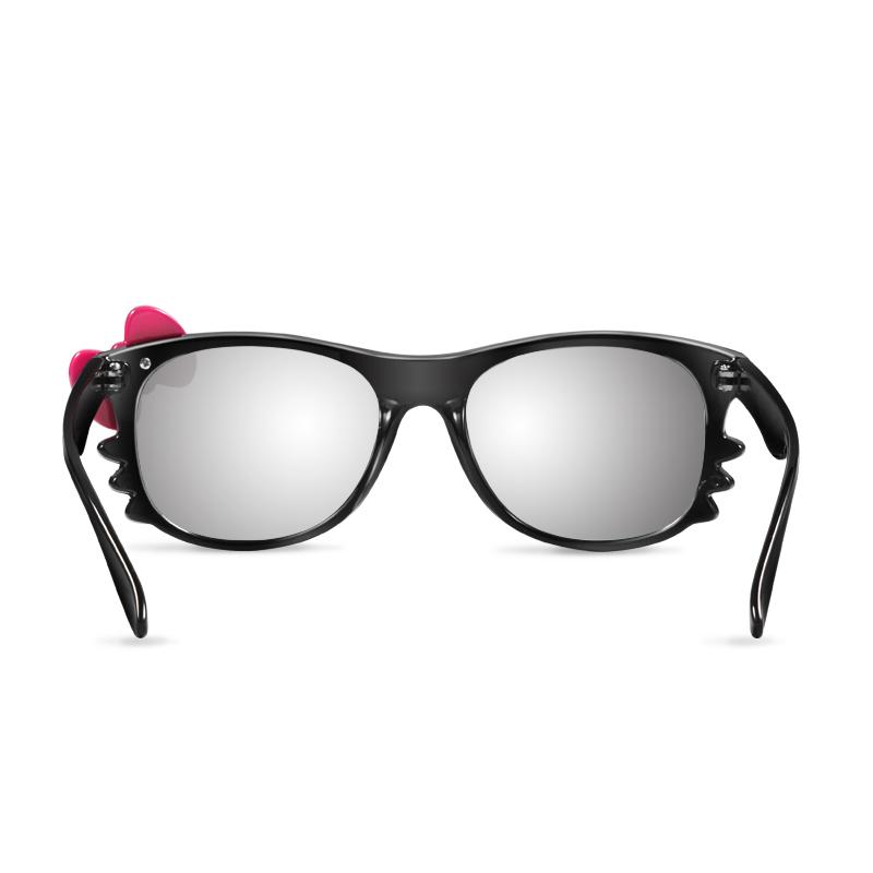 优乐视可爱蝴蝶结圆偏光3D眼镜 左右格式电影院 3d电视机三D眼镜