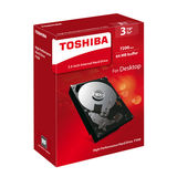 Toshiba / Toshiba P300 mechanical hard 3T 7200 rpm vertical PMR cache can monitor 64M 3.5 inches boxed desktop computers 3tb