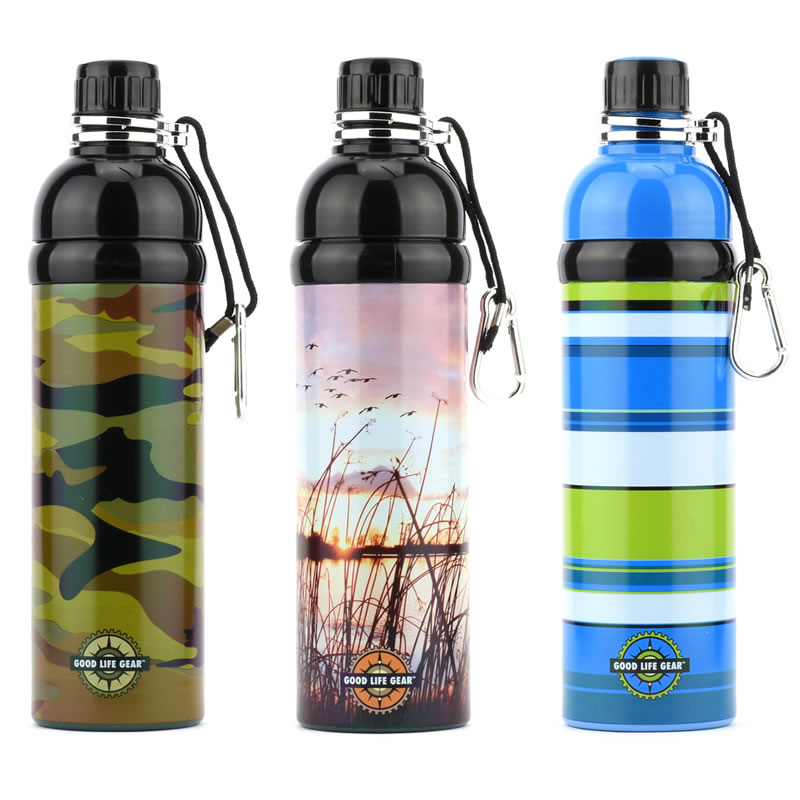 不鏽鋼戶外旅遊騎行運動水壺/瓶水杯 750ml單層不保溫冷水瓶