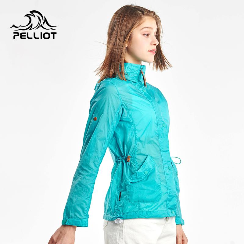 伯希和户外皮肤衣 防紫外线防晒衣男女夏季透气防晒服运动风衣