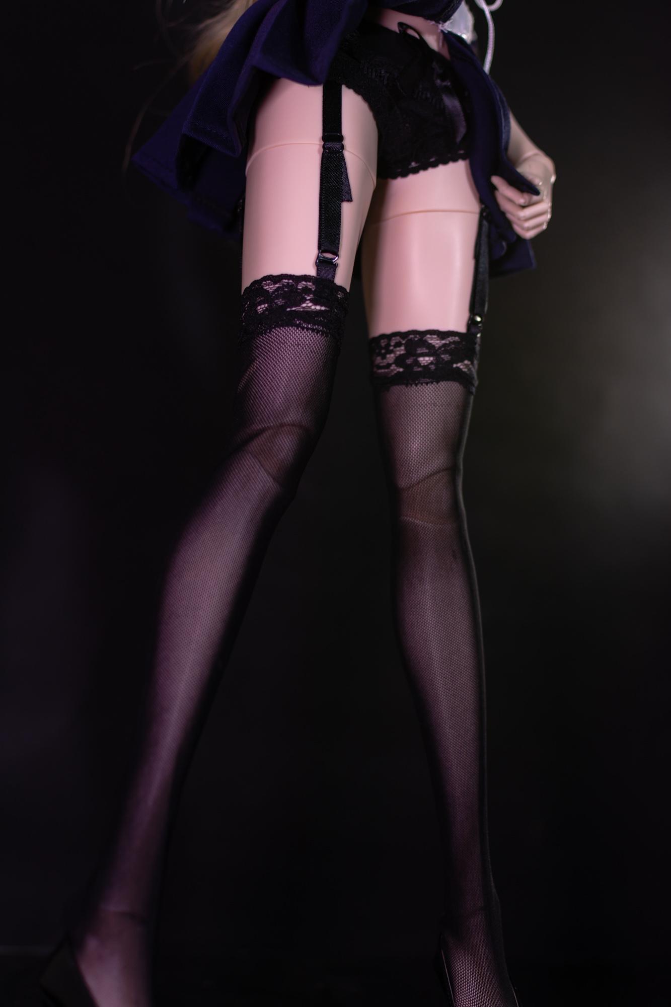 包邮【PL】BJD叶罗丽娃娃衣学生服制服洋装吊带裤SD3分ip4分套装