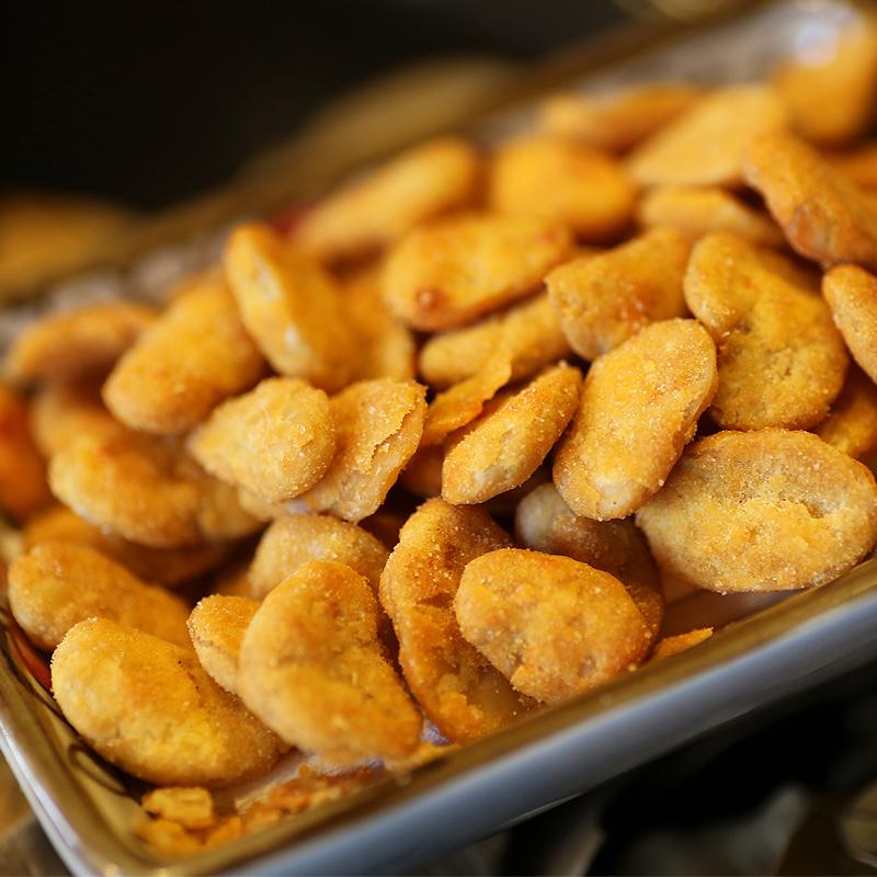 【三只松鼠_蟹香蚕豆205g】休闲零食特产炒货小吃蚕豆蟹黄味