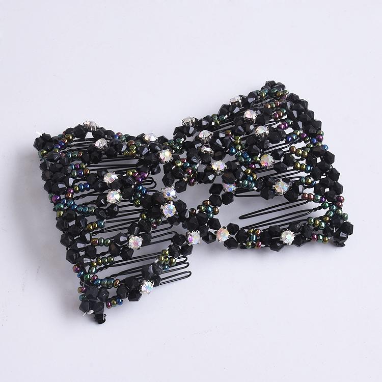 韩版气质优雅正品盘发器编发器百变魔术插梳发梳发夹发饰头饰