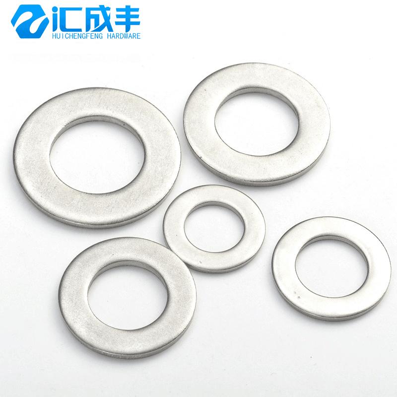 304不锈钢垫片金属加大加厚平垫薄平垫圈M2M3M4M5M6M8M10M12