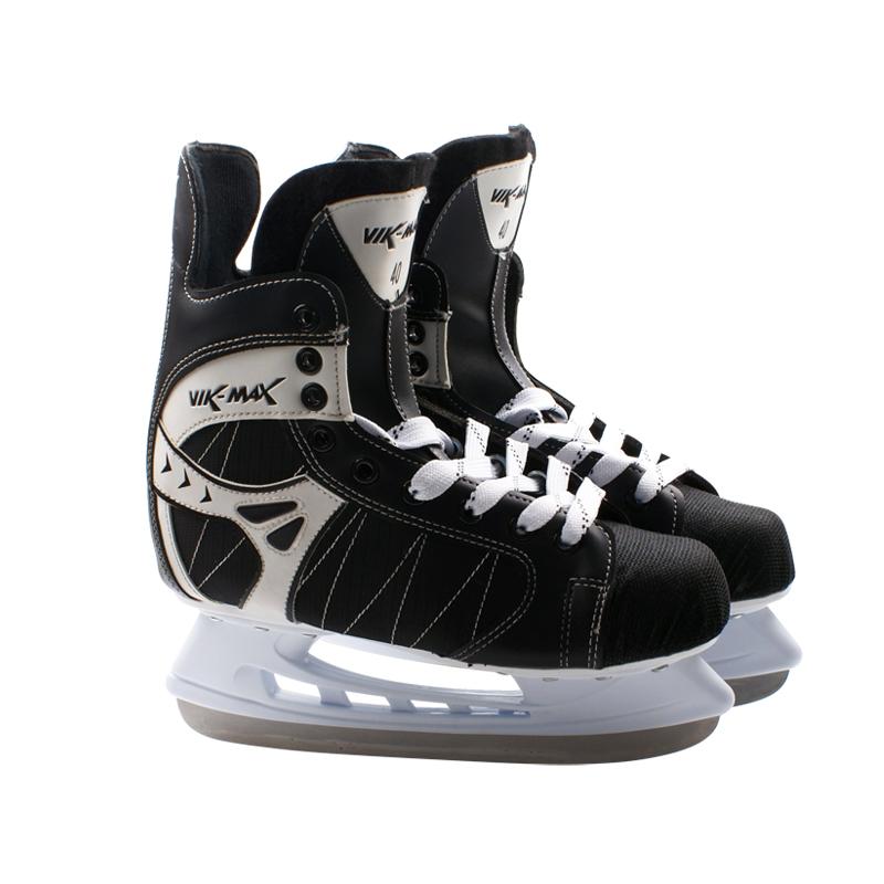 威玛仕新款专业球刀鞋成人冰球刀鞋男儿童青少年冰球鞋送装备