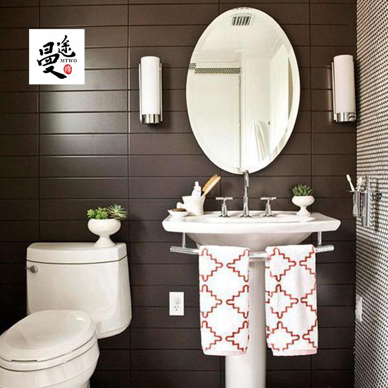 北欧特价厨房小瓷砖阳台卫生间墙砖洗手间100x400长条平面地铁砖