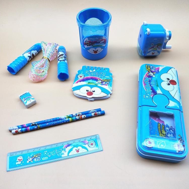 学习用品儿童礼物开学奖品创意文具礼盒文具套装 小学生手提礼包