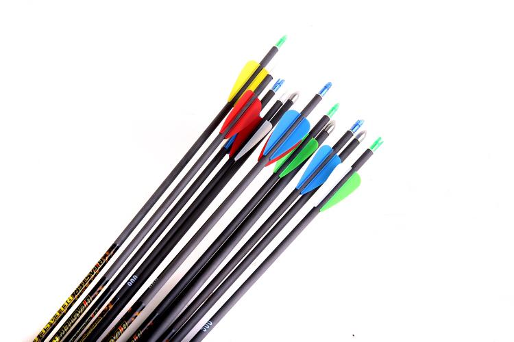 碳素箭防爆尾反曲弓碳箭支进口贝卡思特射准箭竞技射箭纯碳纤维箭