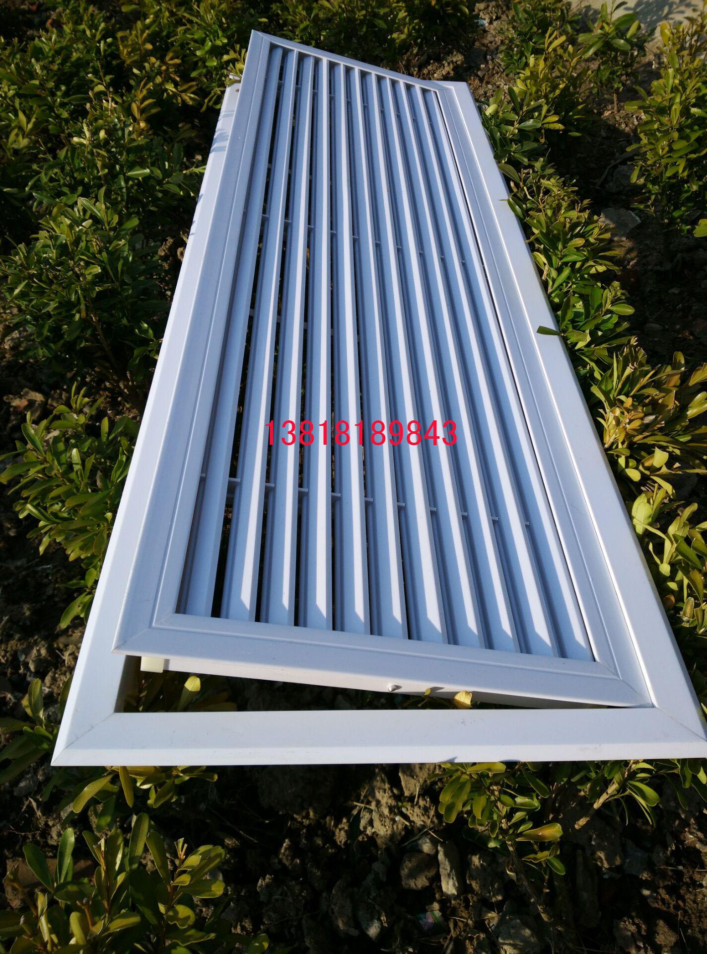 中央空调出风口ABS检修口百叶窗双层单层格栅进 排风口铝合金定制