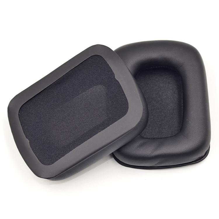 长方形耳机套耳罩海绵垫诺基亚bh-940 美加狮kama PS4拜亚耳机配