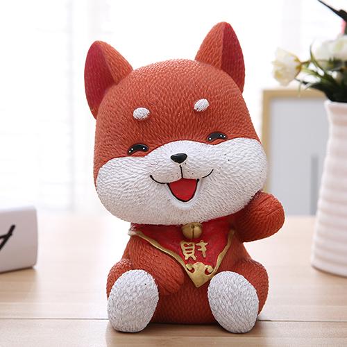 狗年生肖小狗存钱罐儿童生日礼物送朋友 创意卡通大号狗狗储蓄罐