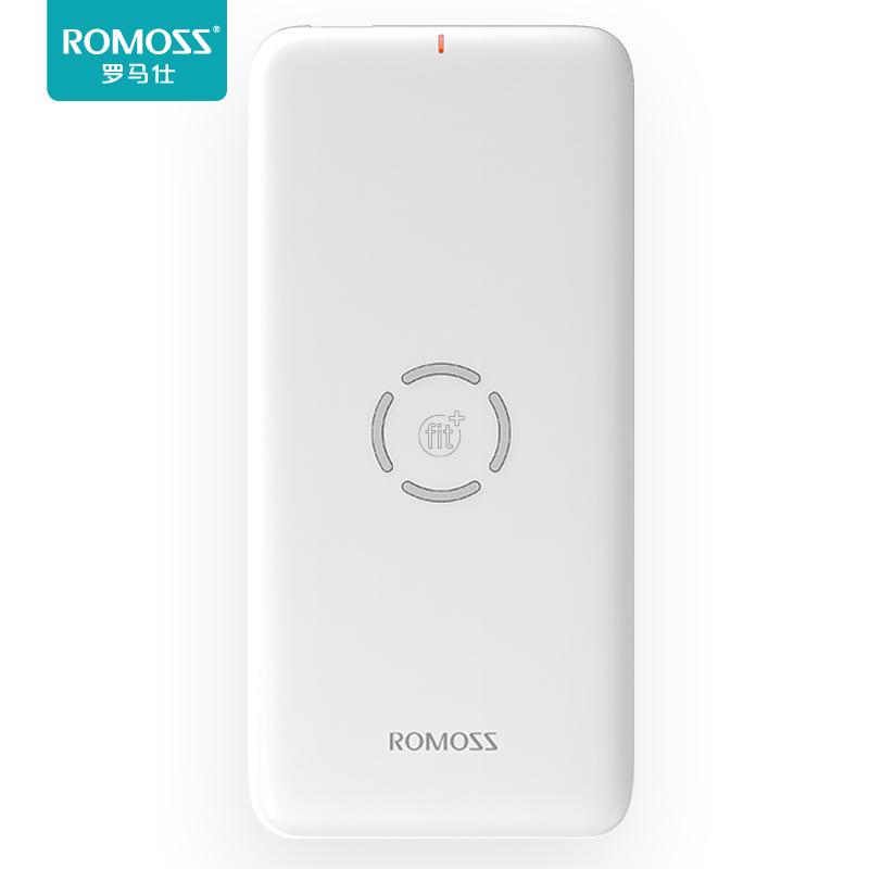 罗马仕/romoss 10000毫安无线充电宝iPhone X/XS苹果手机移动电源