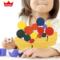 日本 森林月亮平衡游戏积木 木质堆塔叠叠乐 宝宝益智力木制玩具