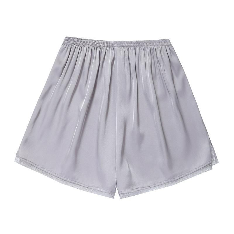 蕾丝安全裤防走光女夏可内外穿不卷边打底保险裤学生薄款冰丝短裤