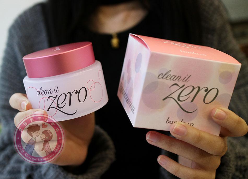 韩国banilaCO芭妮兰卸妆膏控油zero脸部温和深层清洁洁面卸妆乳