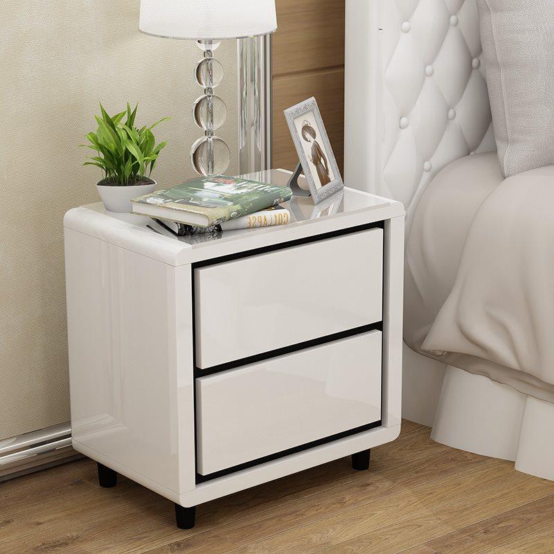 特价收纳柜储物柜卧室小柜子迷你床边柜白色简易 床头柜简约现代
