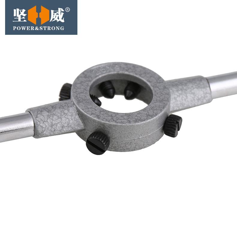 高品质锌合金 圆板牙扳手 绞手 铰手 圆板牙架 元板牙绞手 M2-M36