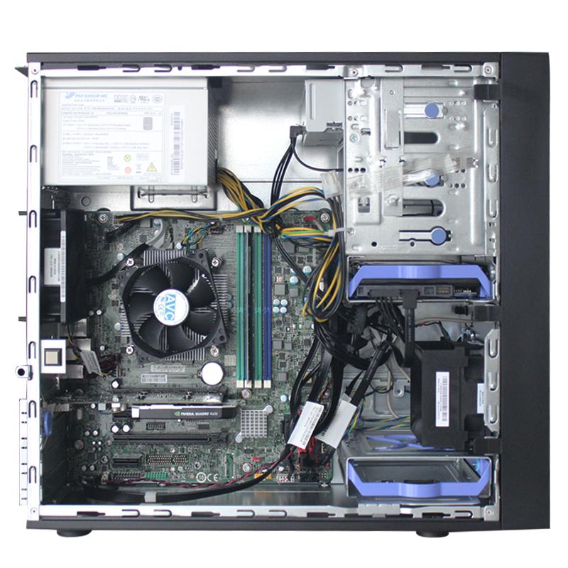 联想工作站服务器 P320 酷睿i3 i5 i7至强E3企业ERP数据库文件存储财务金蝶用友管家婆软件定制配置替代TS250
