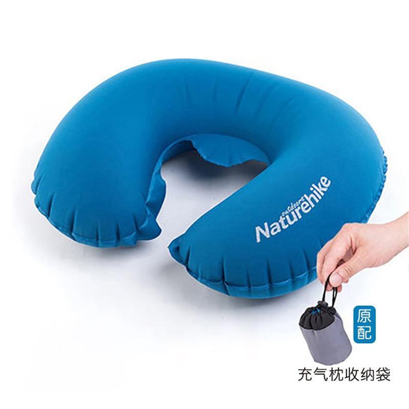 Naturehike輕薄護頸枕u型枕充氣枕頭靠枕旅行枕旅遊三寶睡枕便攜