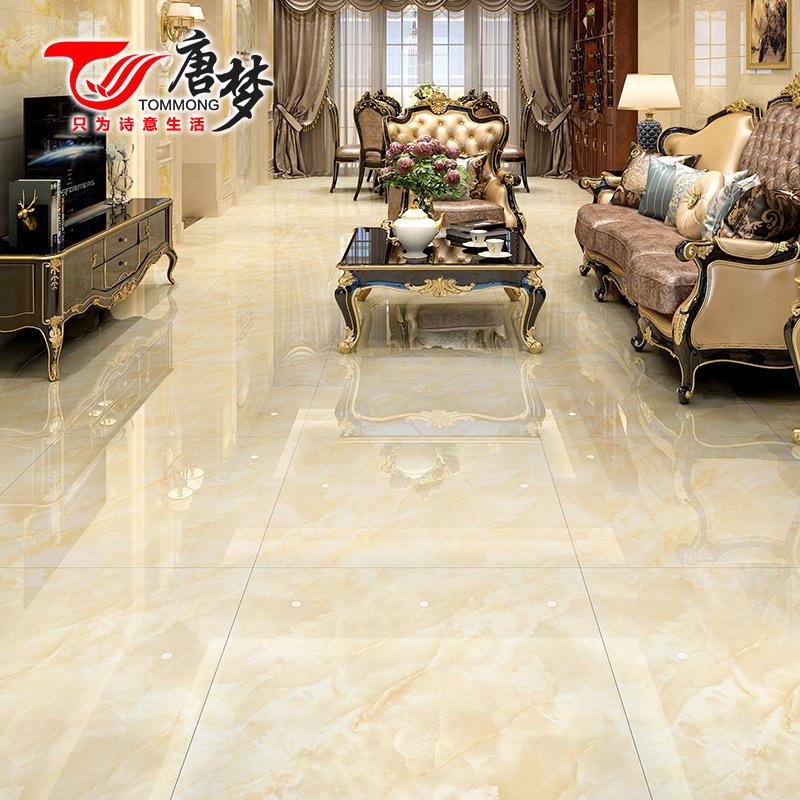 唐梦 全抛釉地板砖瓷砖800x800客厅地面耐磨防滑玻化砖欧式地砖