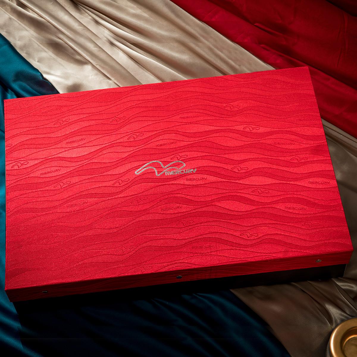 水星家纺婚庆六件套喜被大红床婚庆牡丹颂新婚床品被套结婚套件
