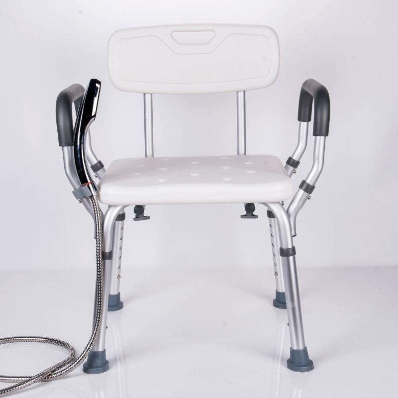 安全浴室座椅有扶手防滑卫生间洗澡沐浴淋浴房坐凳子老年人浴室椅