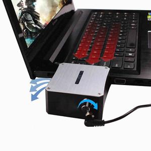 酷奇金属抽风式17寸游戏笔记本15.6散热器14电脑联想戴尔风冷降温