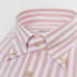 FABRIC SHOP 140's high-count cotton three-color striped shirt men's summer long-sleeved business casual shirt