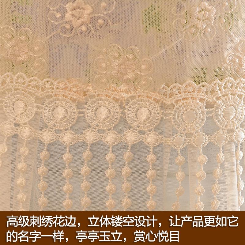 佳尔美蕾丝饮水机罩两件套水桶套子布艺饮水机防尘罩现代简约韩版
