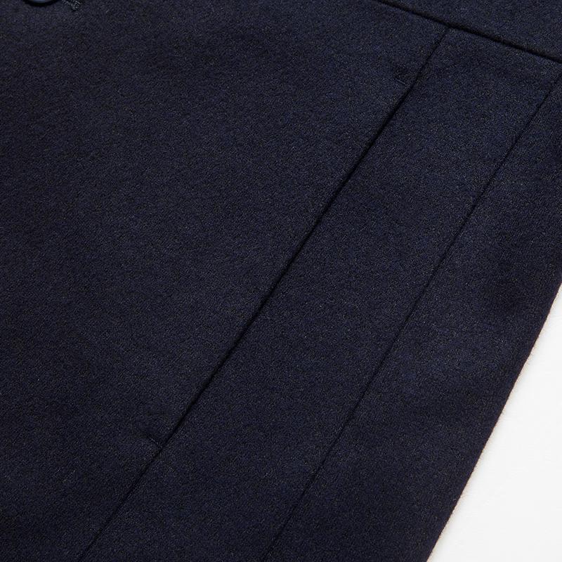 Q七匹狼男装外套青年休闲西服型单西外套男时尚潮流毛呢大衣男装