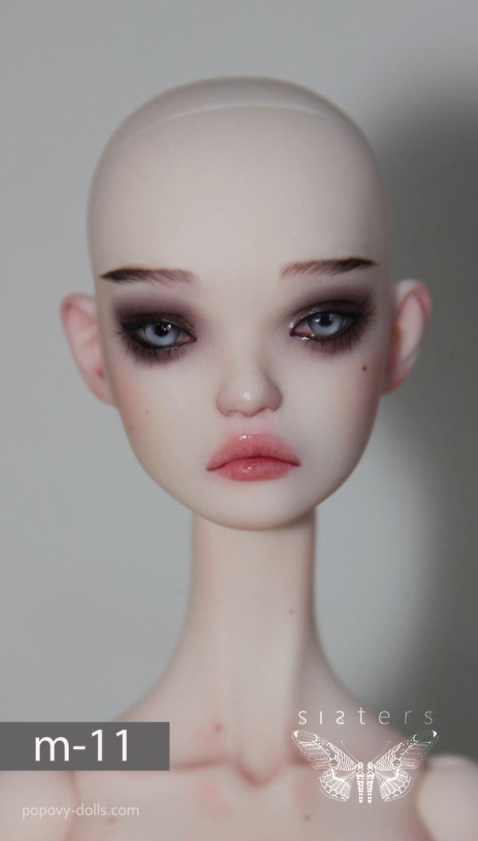 正品【Popovy Sisters】官妆1 面妆+体妆1/4 特体 SD女娃 bjd娃娃