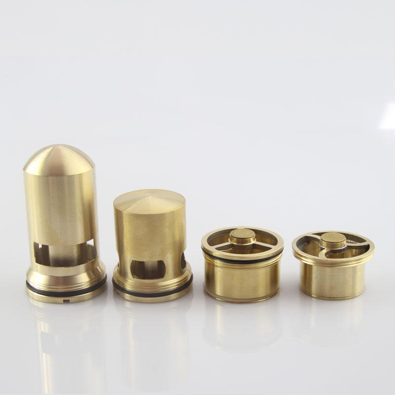 管弹跳下水 5075 管专用 40 型内芯 T 深水封防臭芯 科登全铜防臭地漏芯