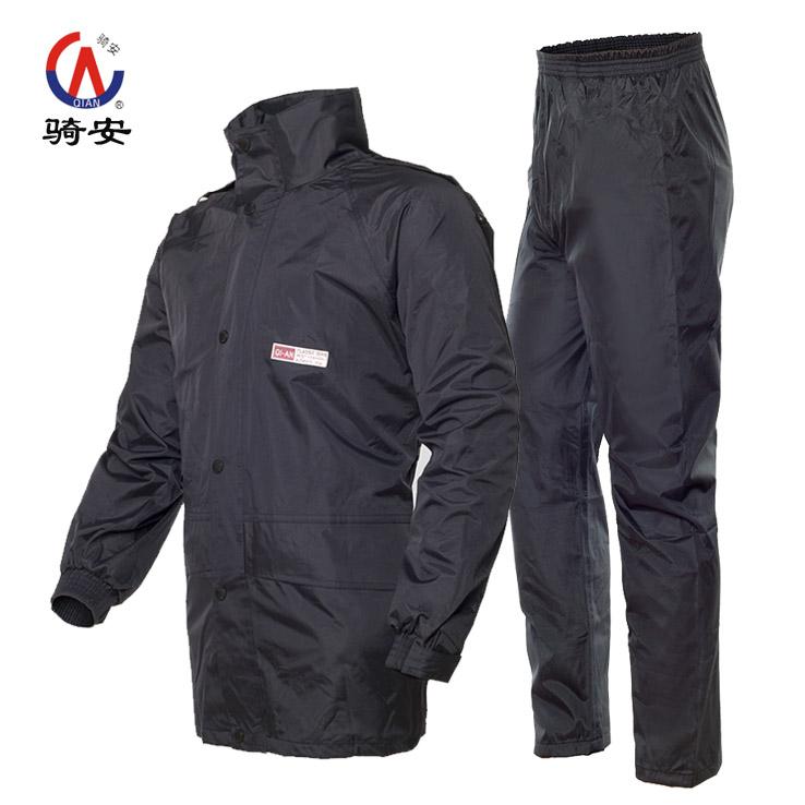 冬季雨衣套装分体防水男加厚加棉保暖成人分体骑行女防风雨衣雨裤