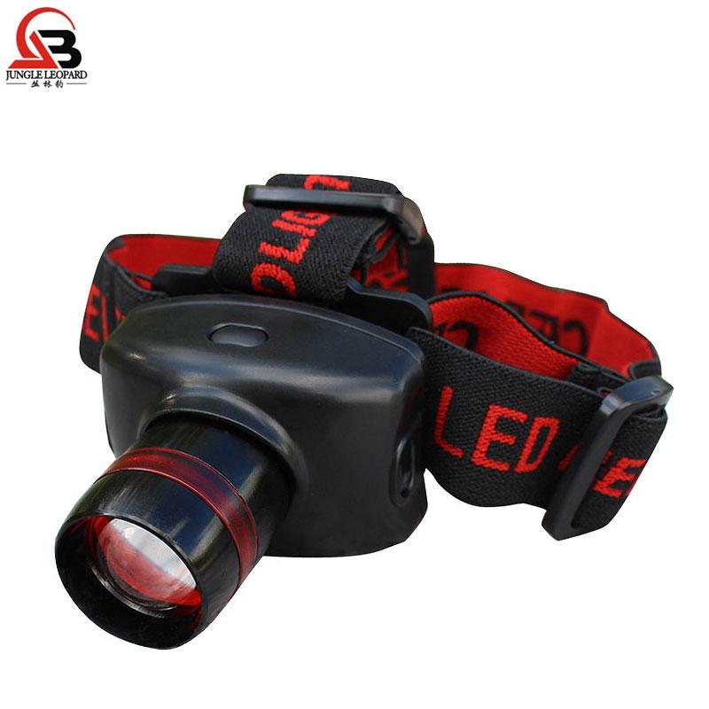 可伸縮強光頭燈 戶外野營燈 釣魚燈 CREE160流明LED泡 3節7號電池