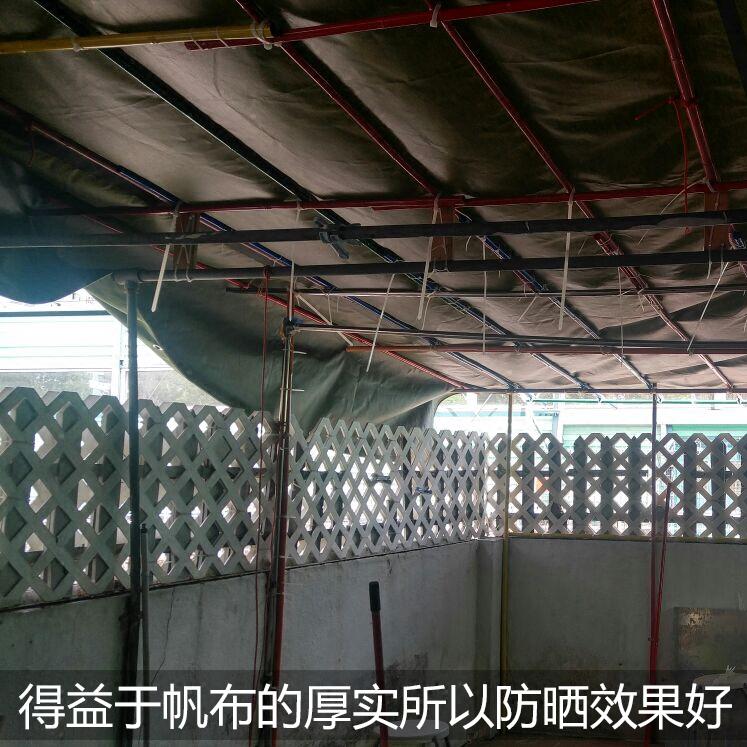 加厚帆布防雨布防水防晒篷布货车汽车油布雨棚蓬布遮雨布户外挡雨