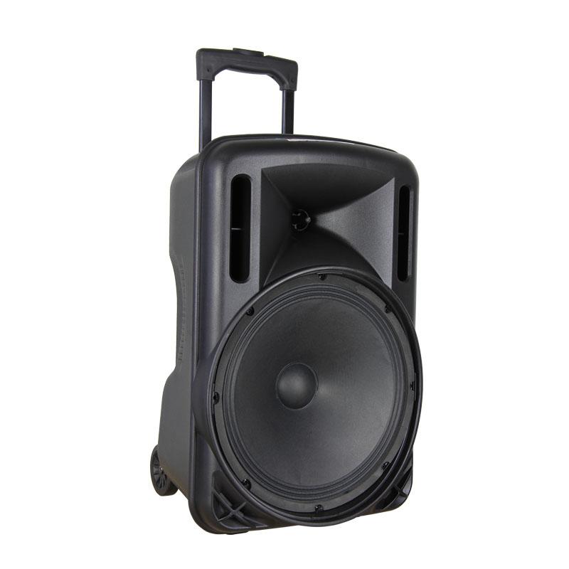 特美声拉杆广场音箱12寸大功率移动携锂电池蓝牙舞台促销户外音响