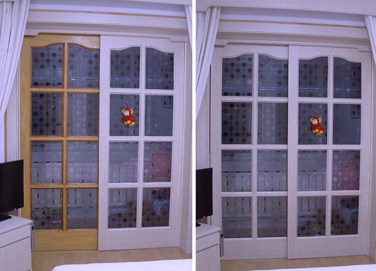 相框鋁合金窗框翻新貼紙防水自粘實木門不鏽鋼門框門套邊框貼膜