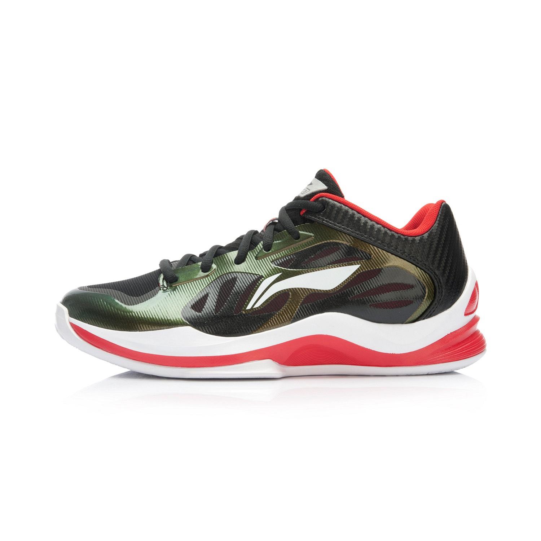李寧正品夏季新款 男子音速3代耐磨透氣防滑減震籃球鞋ABPK013