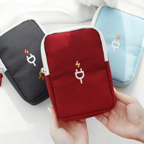 韓國正品2nul旅行便攜充電器寶收納包大螢幕手機包防震數碼相機包