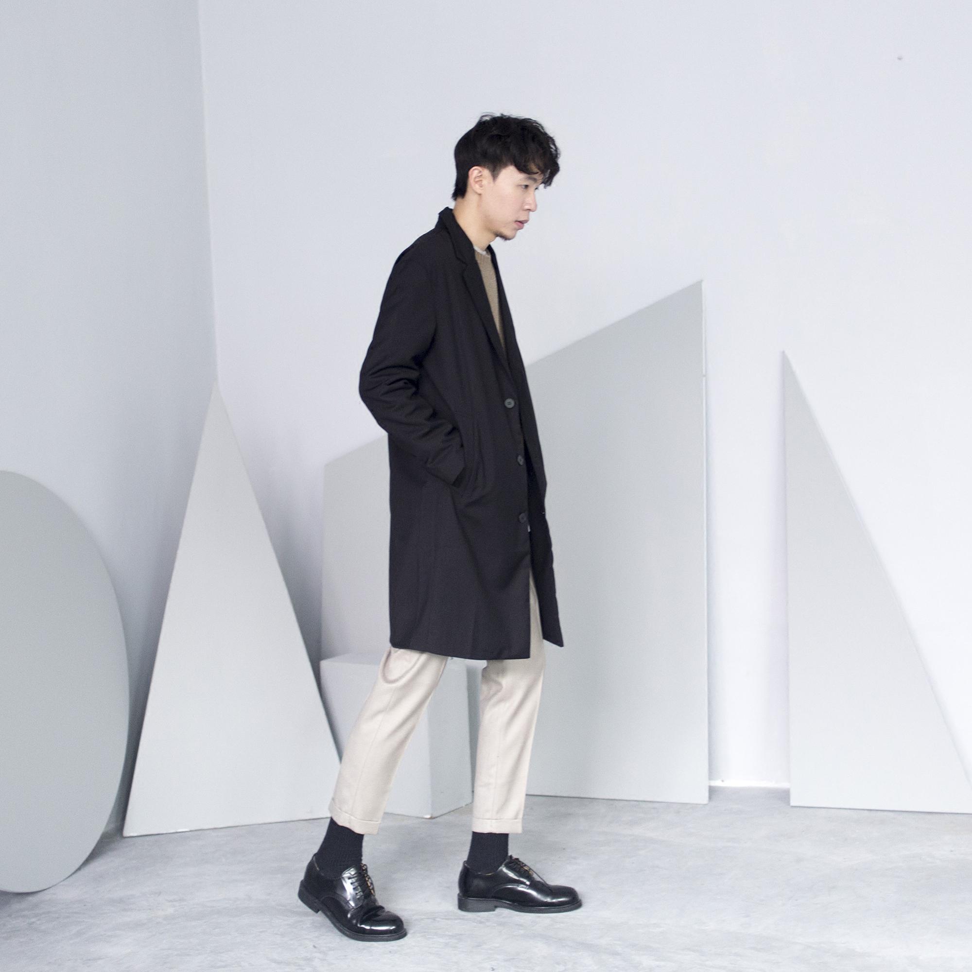 CCJE 男士裤子薄款休闲裤男秋季韩版青年纯色九分裤修身免烫西裤