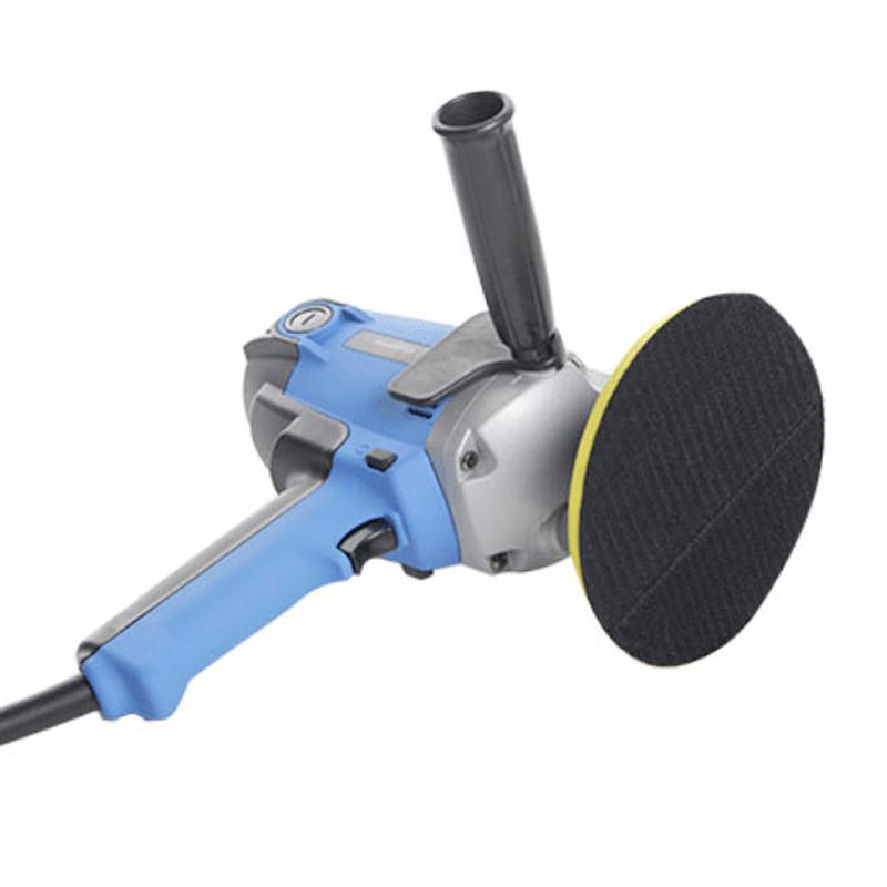 路贝斯立式汽车抛光机220V可调速小型车用美容工具家用地板打蜡机
