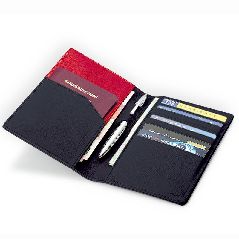 德國Modern 護照包多功能 旅行收納證件夾 護照夾 情人節禮物